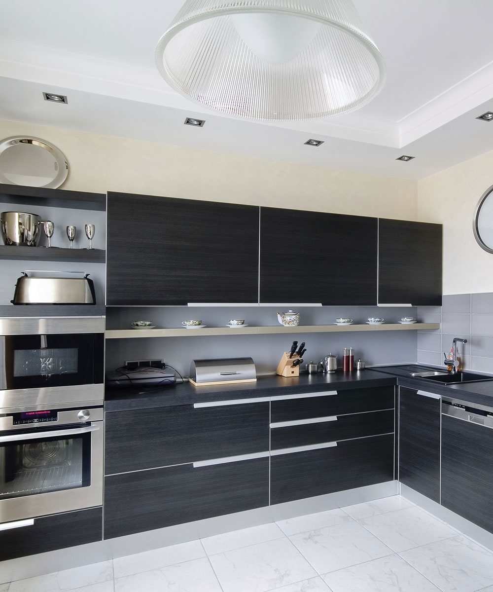 Newely remodeled kitchen